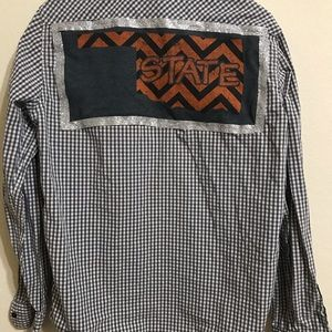 Women's Oklahoma state long sleeve game shirt M